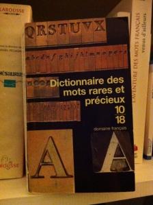 dictionnaire des mots rares et précieux