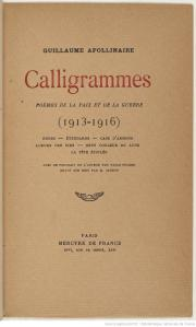 Calligrammespageavectitre