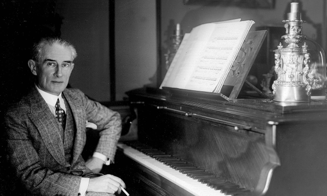 Maurice Ravel (1875-1937), French composer. LIP-16